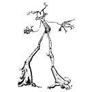 Inktober 2016 Day 01 - Tree Guy by Aaron Gonzalez