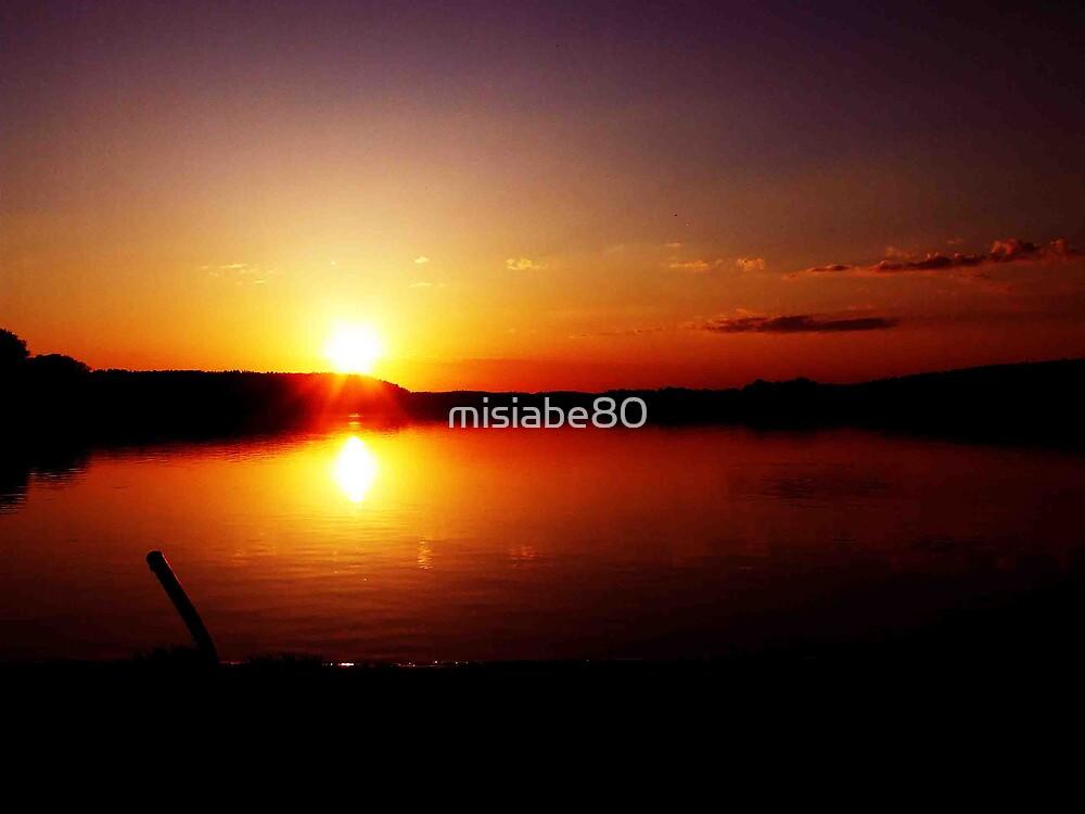 Sunset in Olsztyn by misiabe80