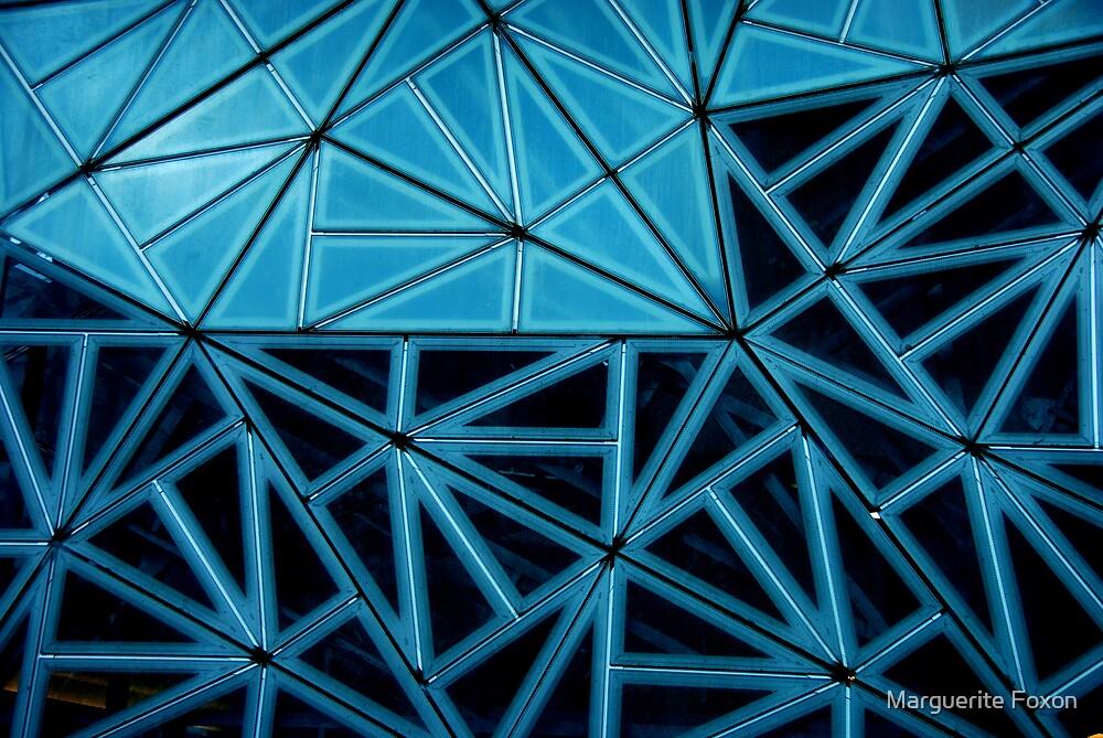 Window in Blue by Marguerite Foxon