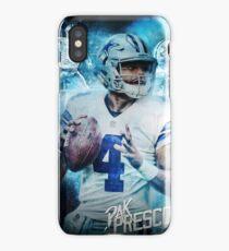 Dak Prescott Dallas Sports Art iPhone Case