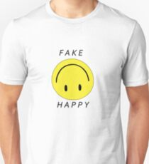 PARAMORE FAKE HAPPY Unisex T-Shirt