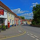 A Street in Thaxted, Essex by Margaret  Hyde