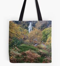Powerscourt waterfall  Tote Bag