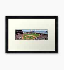 AT&T Park SFG Picture Framed Print