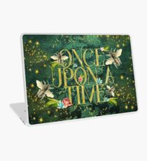 Bee Once Upon a Time Laptop Skin