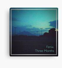 Fenix. - Three Months (Tape Cover) Canvas Print
