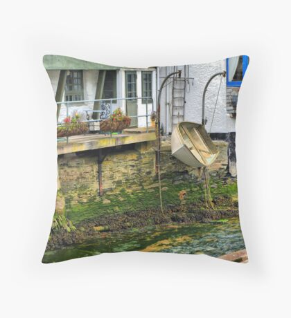 Expecting a High Tide Throw Pillow