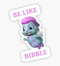 Barbie's Bibble Sticker
