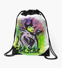 Maleficent's Pets Drawstring Bag