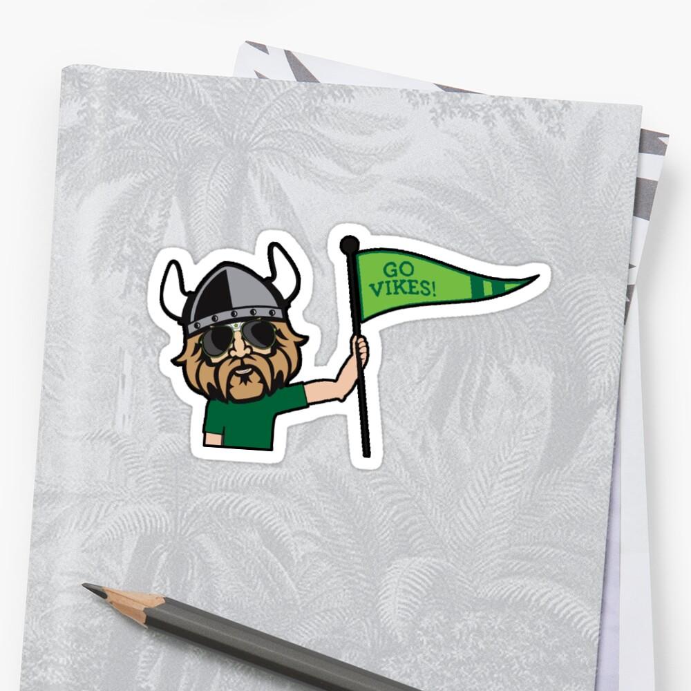 Cleveland State Viking Sticker