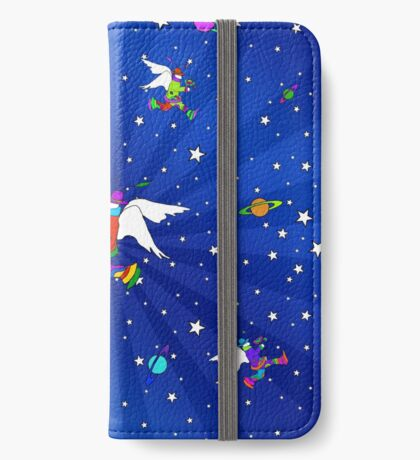 Angel Dudes Starry Night iPhone Wallet