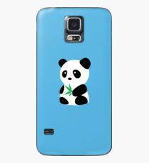Panda with bamboo Case/Skin for Samsung Galaxy