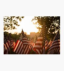 Memorial Day Sunset Photographic Print