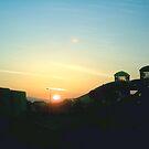 sunsets V by guy natav