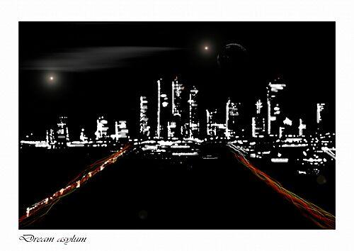 CITY LIGHTS by MAL1983