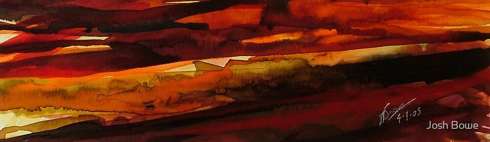 Ink Sunset by Josh Bowe