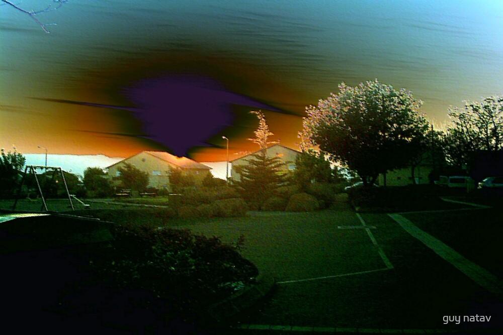 sunsets VI by guy natav