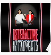 Dan and Phil 2018 Tour Poster