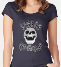 liches get stitches Women's Fitted Scoop T-Shirt