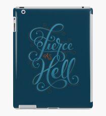 Fierce as Hell iPad Case/Skin
