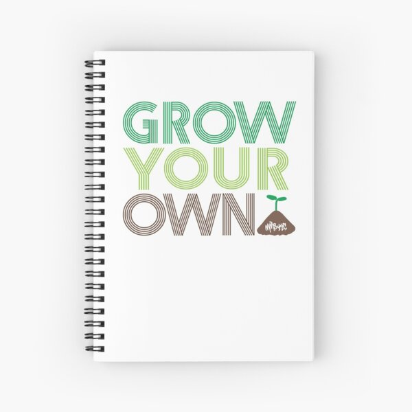 Grow Your Own Spiral Notebook