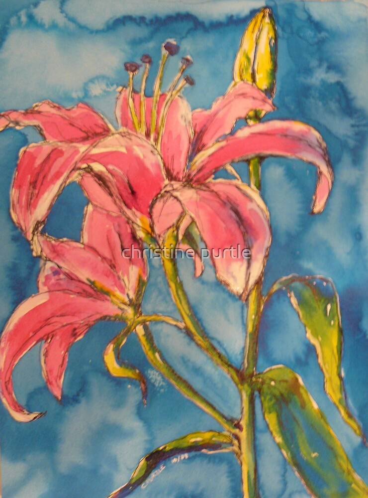 day lilies by christine purtle