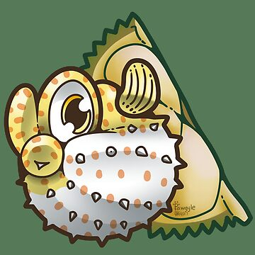 Durian pufferfish by Pawgyle