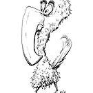 Inktober 2017 Day 08 - Big Beak by Aaron Gonzalez