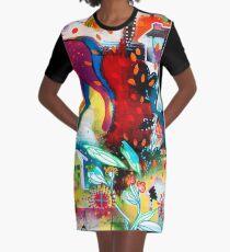 the nordic summer night Graphic T-Shirt Dress