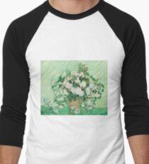 Vase with Pink Roses - Vincent Van Gogh T-Shirt