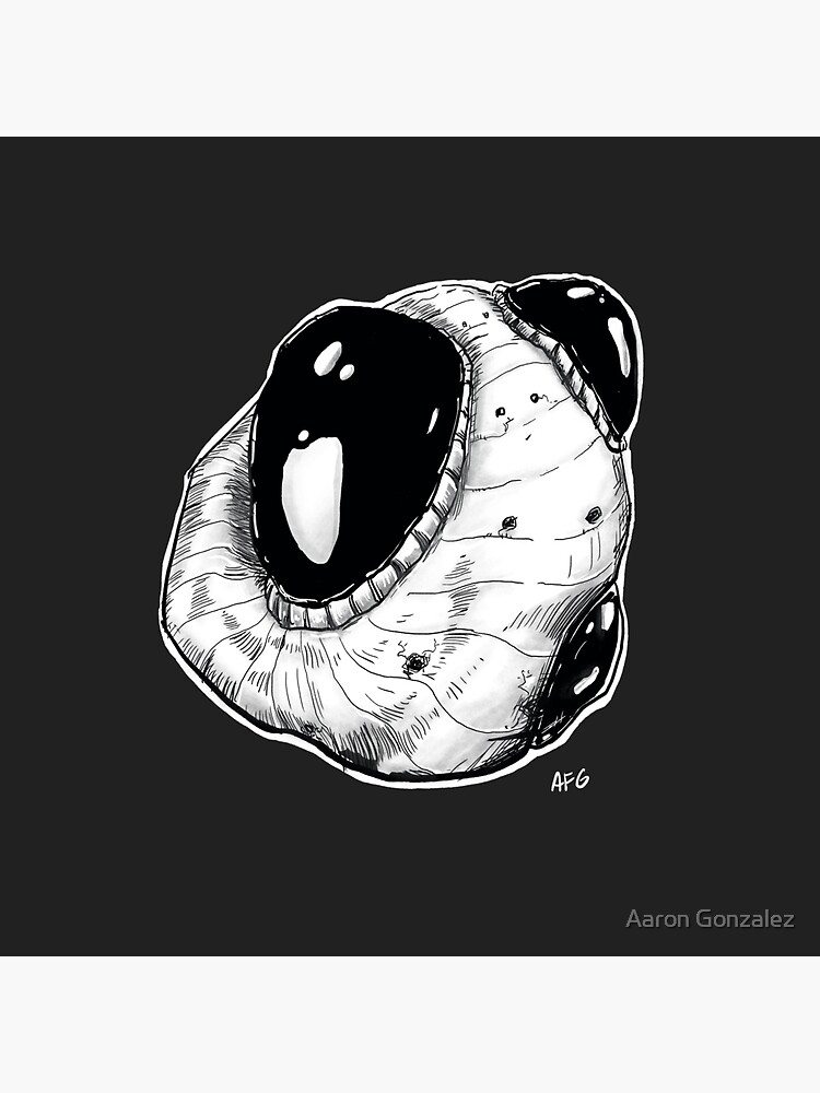 Inktober 2017 Day 13 - Ore by aaronfg