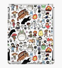 Kawaii Ghibli Doodle iPad Case/Skin