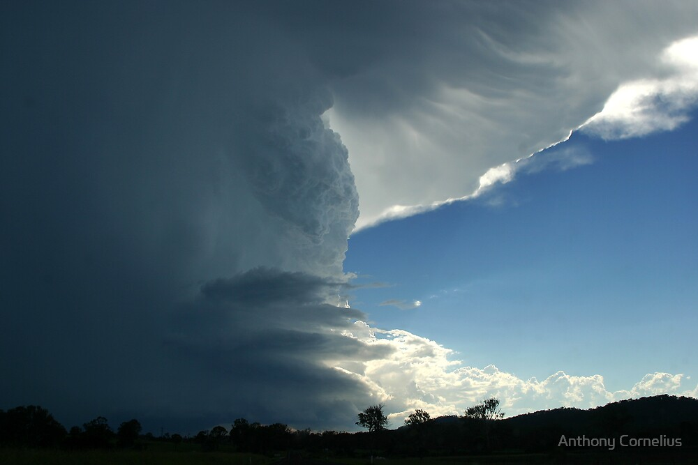 Beaudesert Supercell by Anthony Cornelius