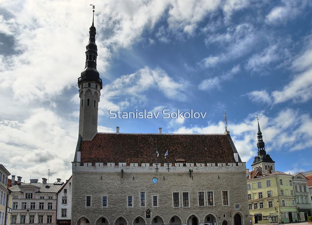 Tallinn Townhall HDR  by Stanislav Sokolov