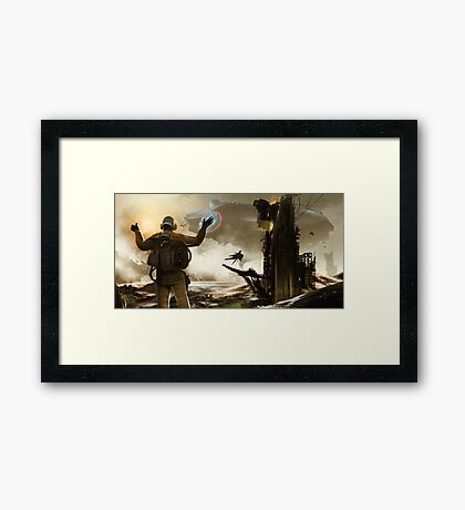 You're Clear For Takeoff Framed Print