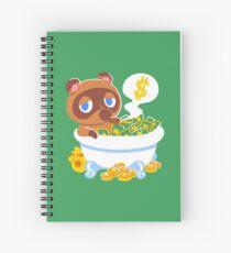 Bank Bath Spiral Notebook