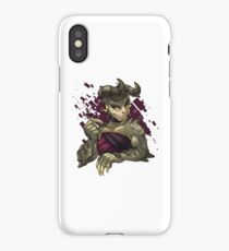 deathclaw - heavy with eggplant, chard, tomatoes bruised blue, blushing  iPhone Case/Skin