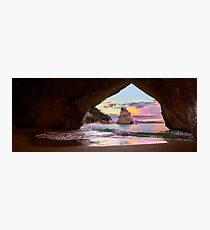 Cathedral Cove Sings Photographic Print