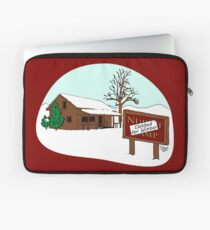 Clothed for Winter Laptop Sleeve