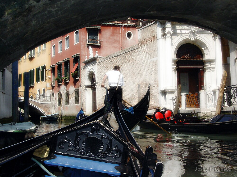 Gondola Ride by Joseph Johnson