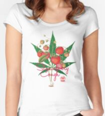 Strawberry Cough Women's Fitted Scoop T-Shirt
