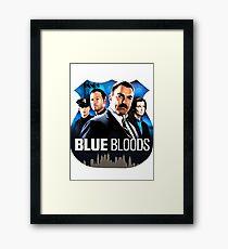 Blue Bloods Framed Print