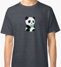 "Panda with ""recreational bamboo"" Classic T-Shirt"