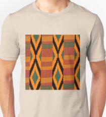 Kente print drawing Unisex T-Shirt
