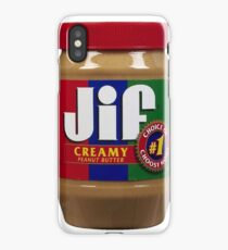 Jif Peanut Butter (Extra Creamy) iPhone Case/Skin