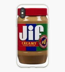 Jif Peanut Butter (Extra Creamy) iPhone Case