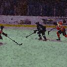 Game On - Ice Hockey Match for Sportslovers by Skye Ryan-Evans