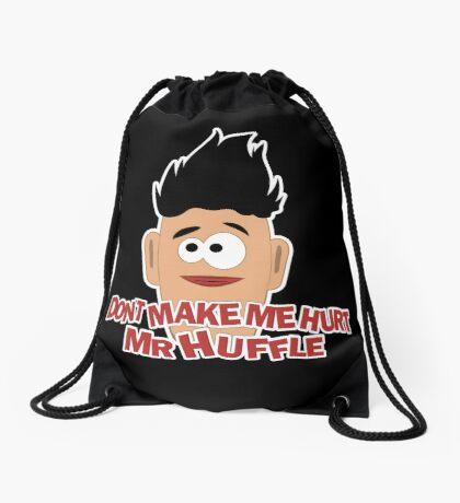 Don't Make Me Drawstring Bag