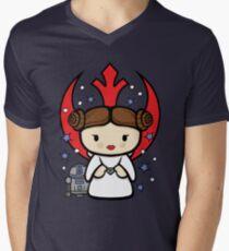 Rebel Princess Men's V-Neck T-Shirt