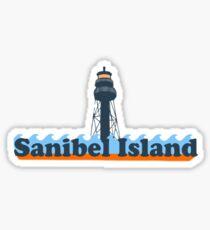 Sanibel Island - Florida. Sticker